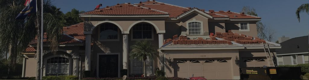 Residential tile roofing