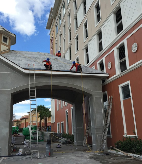 Commercial new roof services