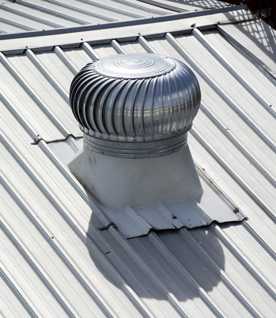 Commercial metal roof small
