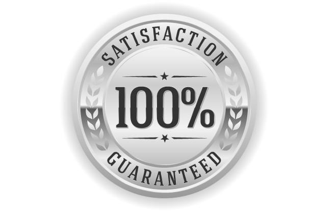 Satisfaction guarantteed